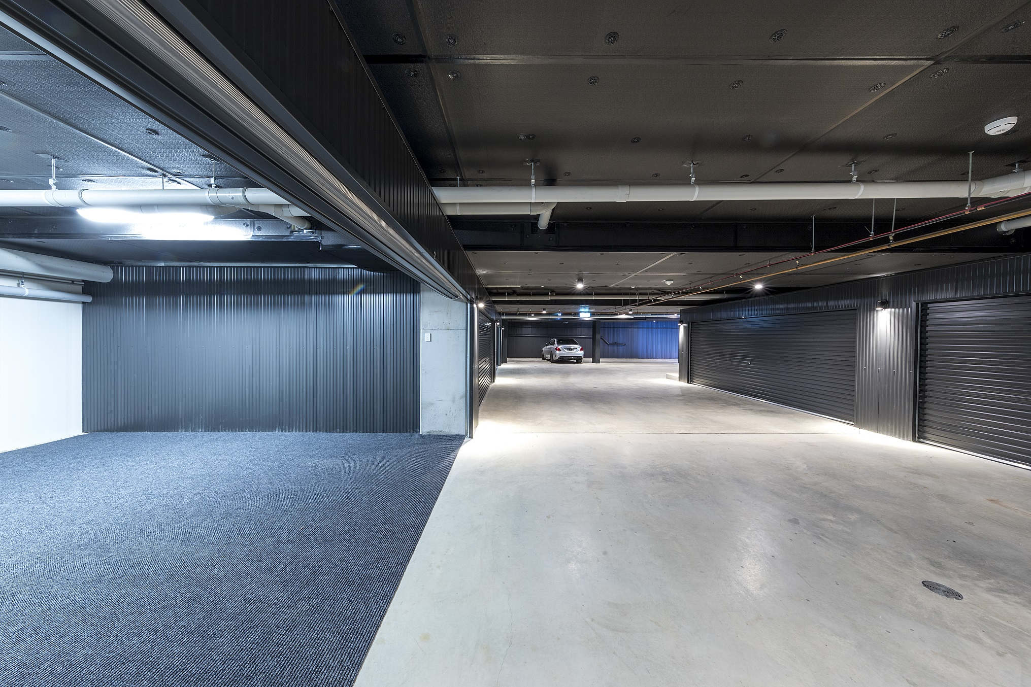 Mercer Apartments Basement Carpark Preferred Builders
